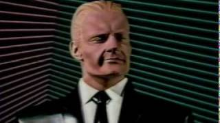 Max Headroom interview on the David Letterman Show