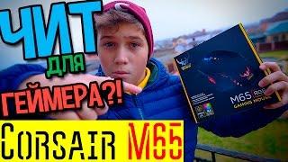 Чит для геймера?! Обзор игровой мыши Corsair M65 RGB!