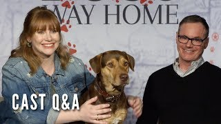 A DOG'S WAY HOME - Cast Q&A (Bryce Dallas Howard, W. Bruce Cameron)