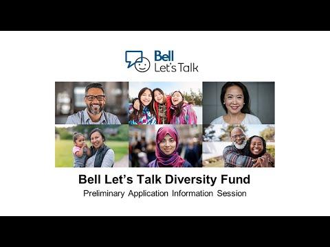 2021 Bell Let's Talk Diversity Fund Information Session
