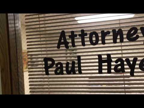 Paul Hayes Office - Anoka, Minnesota