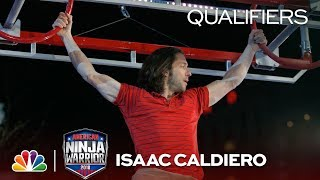 Isaac Caldiero at the Indianapolis City Qualifiers - American Ninja Warrior 2018