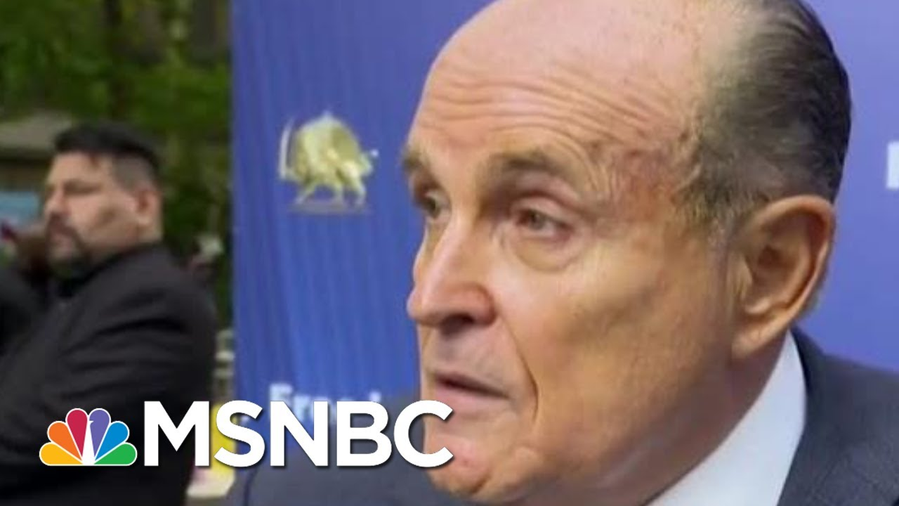 Catch up on the latest news on Rudy Giuliani, his associates and the impeachment inquiry
