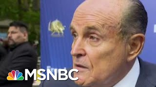 Former Rudy Giuliani Aide: He's Now 'A Right-Wing Conspiracy Nut' | The Beat With Ari Melber | MSNBC