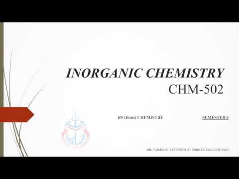 INORGANIC CHEMISTRY lecture 8: Non aqueous solvent: Liq