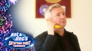 Louis Walsh's 'Get Out Of Me Ear!' Prank With Ant & Dec - Saturday Night Takeaway