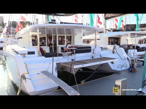 Repeat 2019 Lagoon 52 F Catamaran - Deck and Interior