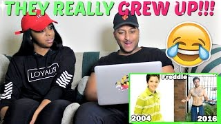 Nickelodeon Stars Then And Now 2016 REACTION!!!