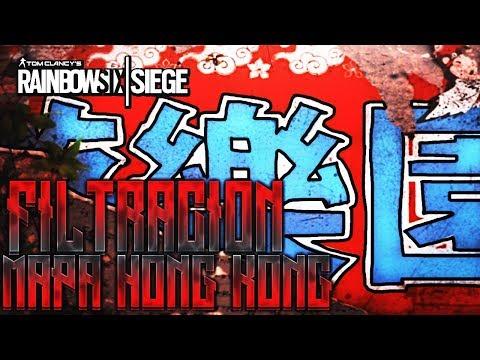FILTRACIÓN MAPA HONG KONG PARQUE DE ATRACCIONES! - RAINBOW SIX SIEGE