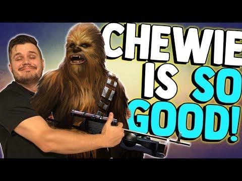 CHEWIE DESTROYS TRAYA! | Kit & Gameplay Reveal | Star Wars: Galaxy of Heroes