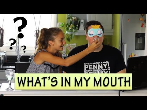 WHAT'S IN MY MOUTH CHALLENGE | Produits Veggie avec ma nièce !