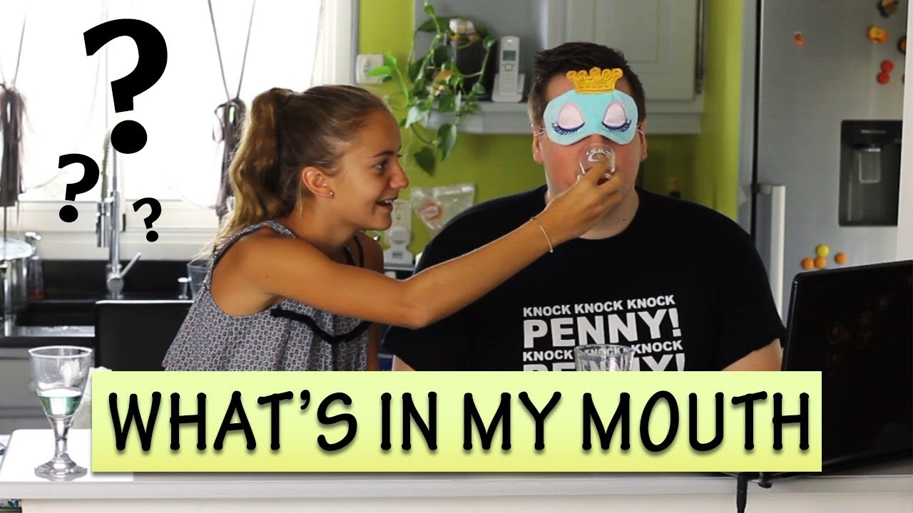 WHAT'S IN MY MOUTH CHALLENGE   Produits Veggie avec ma nièce !