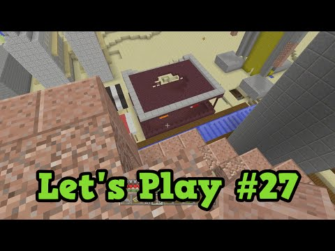 Minecraft Xbox TU35 Lets Play #27 Finished Building