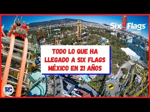 SIX FLAGS MÉXICO CUMPLE 21 AÑOS | TODO LO QUE HA LLEGADO AL PARQUE DESDE EL 2000.