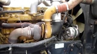 1997 Peterbilt 379 Dump Truck ENGINE FOCUS