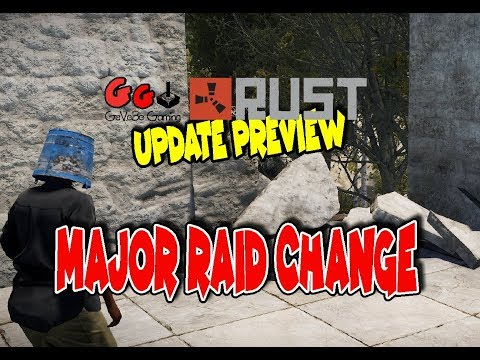 Rust Update Preview - New Raiding Dynamic -A GAME CHANGER thumbnail