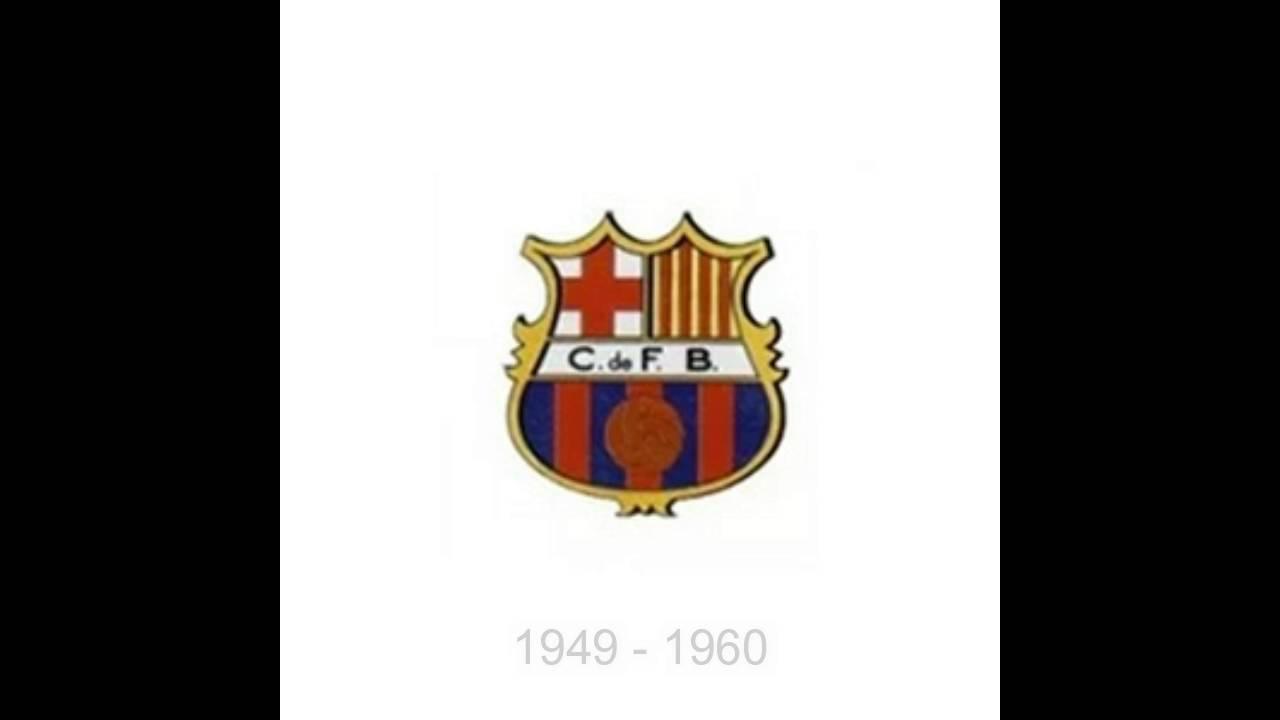 Barcelona Logo History 1899 - 2016 - YouTube