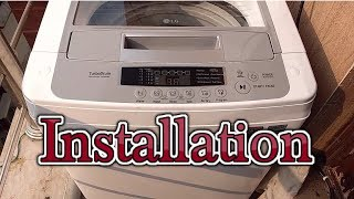 fully Automatic Top Load Washing Machine Installation, Working & Cleaning  How to Use Washer