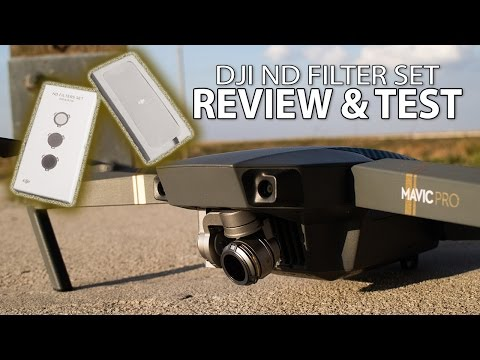 DJI Official ND Filters for Mavic Review & Test