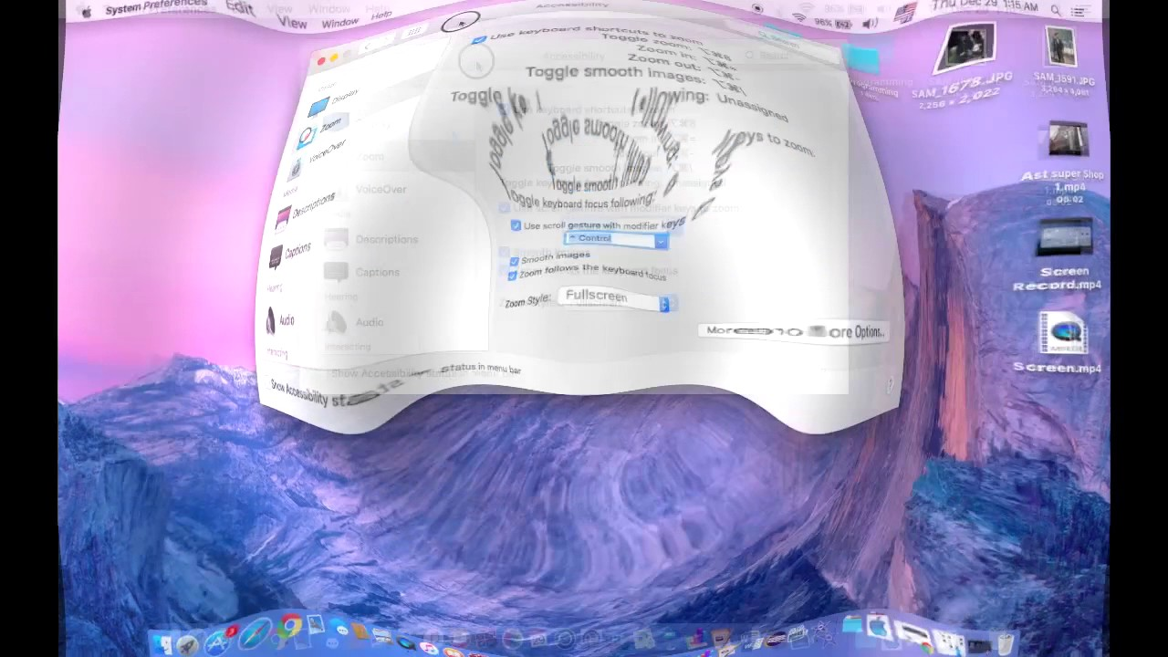 How to zoom inout on your mac screen youtube how to zoom inout on your mac screen ccuart Images