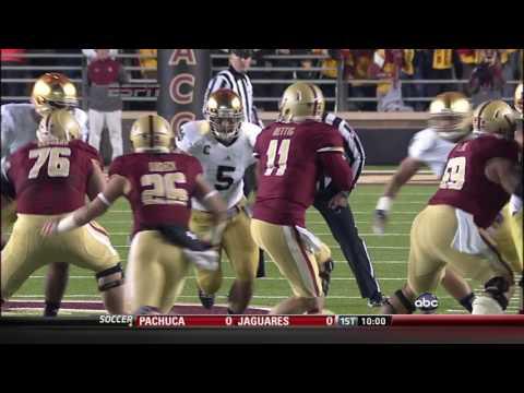 2012 #4 Notre Dame vs. Boston College (HD)