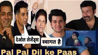 Bollywood celebs Welcomes Karan Deol in Industry, Pal pal dil ke paas Teaser reaction, Sunny Deol