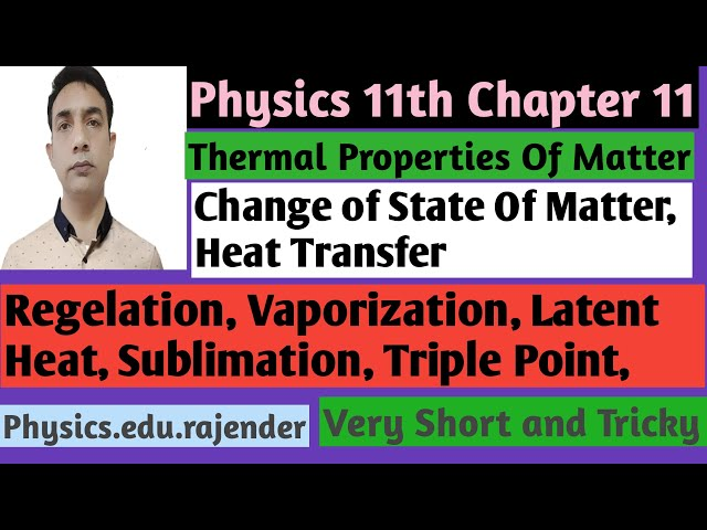 Video 3 ||Chapter 11||Physics 11th ||Thermal Properties of matter ||