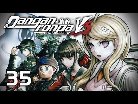 FIGHTING BACK - Let's Play - Danganronpa V3: Killing Harmony (DRV3) - 35 - Walkthrough Playthrough