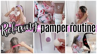 *NEW* PAMPER ROUTINE 2020 // AT HOME SPA DAY // SELF CARE DAY 2020 TIFFANI BEASTON HOMEMAKING SAHM