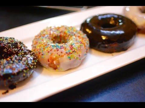 How to Make Eggless Doughnuts | Homemade Eggless Donuts Recipe
