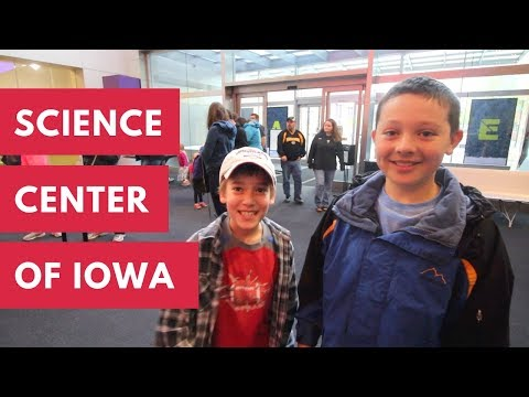 Science Center Of Iowa - Fun With Friends In Des Moines, Iowa