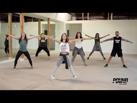 5-Minute POUND® Quickie: Arm Toning Workout | POUND Rockout. Workout.