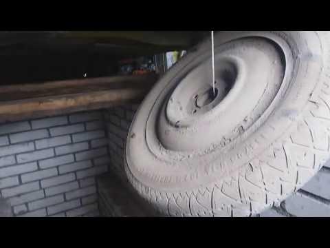 Запасное колесо на Citroen C4 Grand Picasso 2