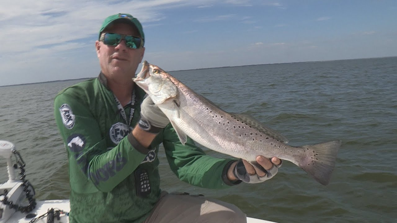 Sneak peek preview 37 2014 trinity bay texas speckled for Trout fishing in texas