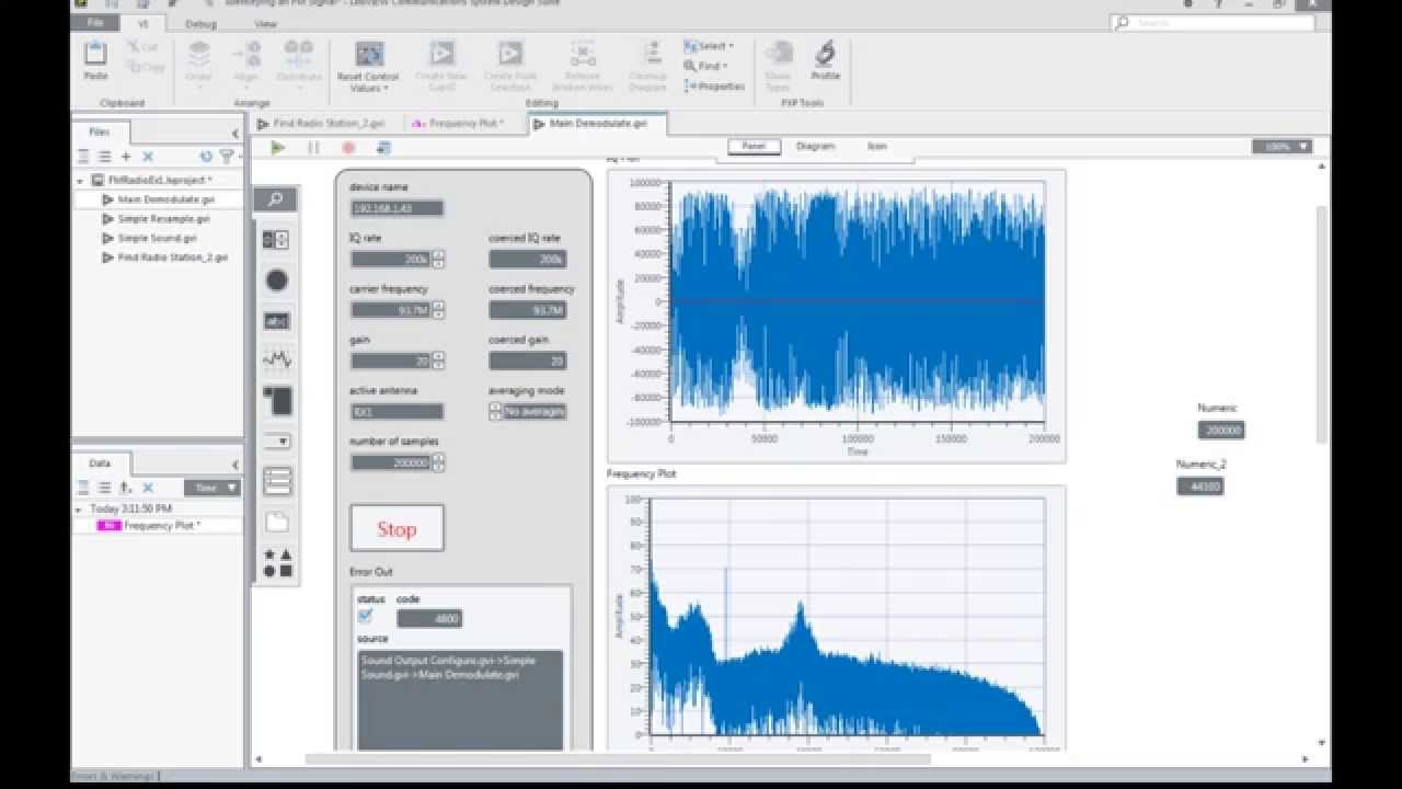 Labview Communications Con Usrp Youtube