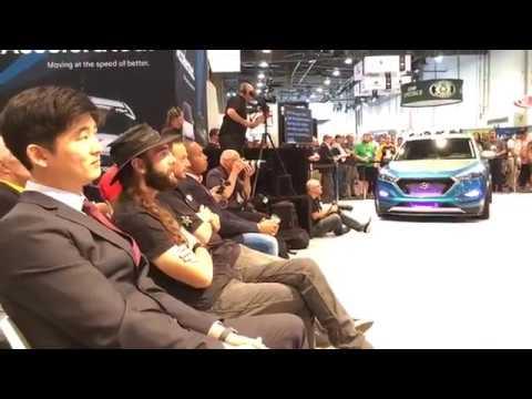 Hyundai SEMA Show Vaccar Tucson Sport Concept Bisimoto HyperEconiq Ioniq BTR Edition Elantra Sport