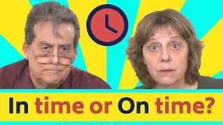 In time - On Time Part One: Learn English with Simple English Videos