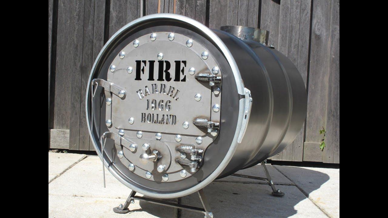 - Barrel Stove Kit - Firebarrel.nl - YouTube