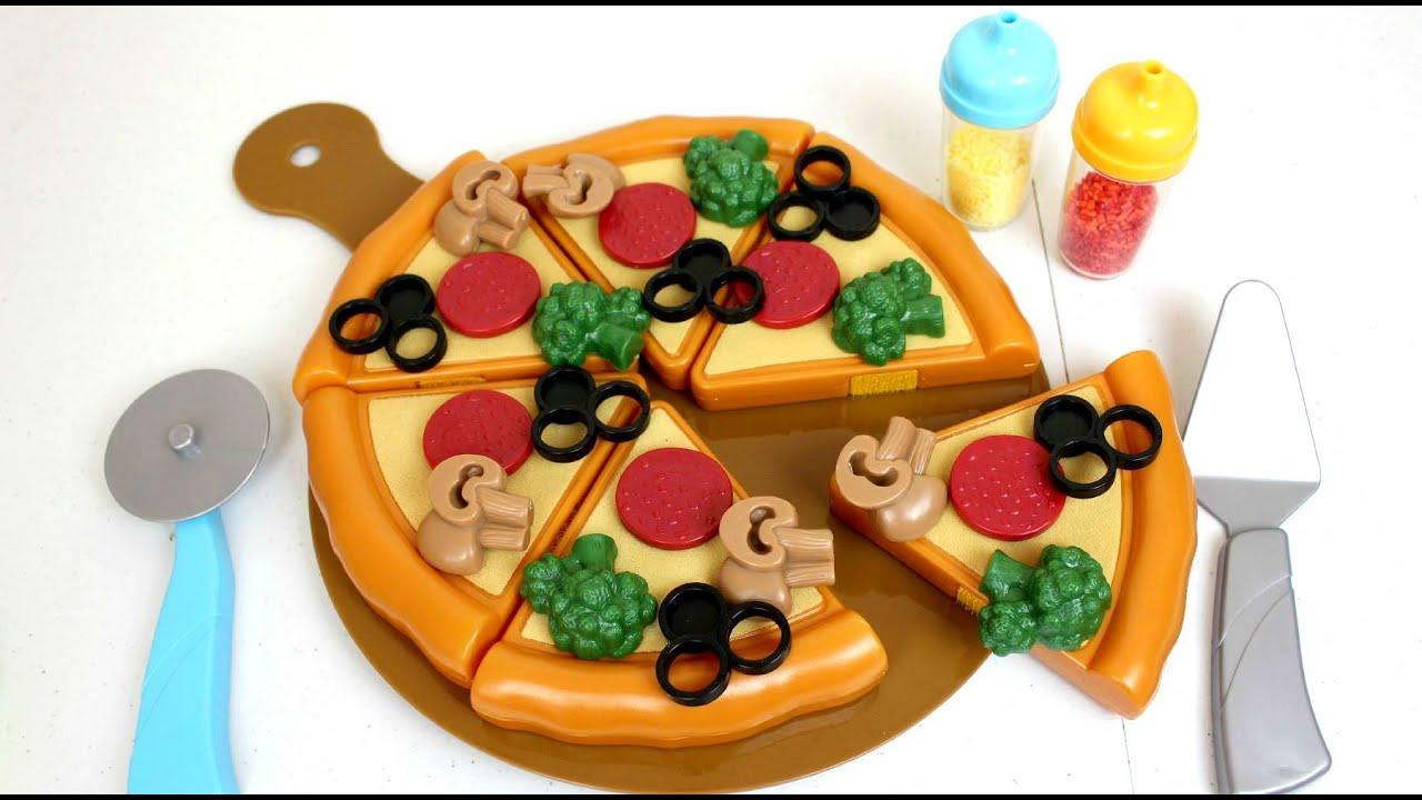 Cocinita de juguete hacemos una pizza unboxing y review - Hacer cocinita de juguete ...