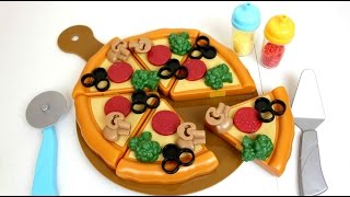 Cocinita de Juguete Hacemos Una Pizza Unboxing y Review Kitchen Toy Pizza  Playset