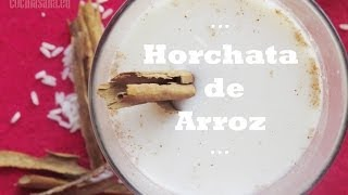 Agua de Horchata con Arroz - Receta Mexicana