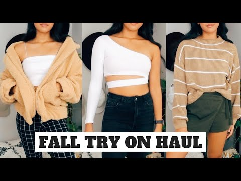 TRENDY FALL CLOTHING HAUL + TRY ON 2018 | Zaful