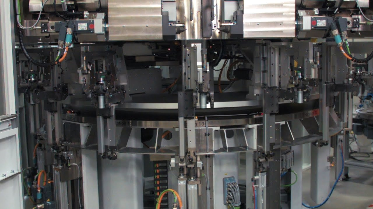 Holz Factory innovative universal joint assembly line at holz automation gmbh