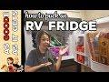 How To Pack Your RV Fridge // RV Living // Family Travel