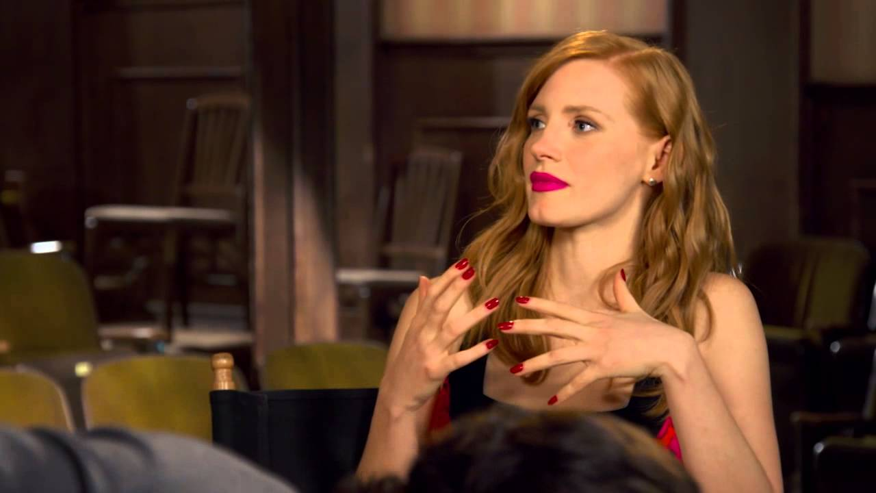 Jessica Chastain Discusses Her Craft in W's January 2013 Issue