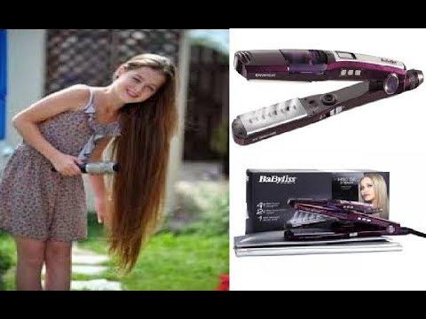 مكواة الشعر بيبي ليس ايونك تيتانيوم سيراميك بالبخار Hair Iron Babyliss