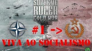 Supreme Ruler Cold War #1 - Viva ao socialismo e guerras contra capitalismo!!!