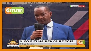 Niko Fiti na Kenya Re initiative aims at empowering  people  living with disabilities