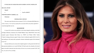 Daily Mail Trumps Melania's Lawsuit Over Escort Story