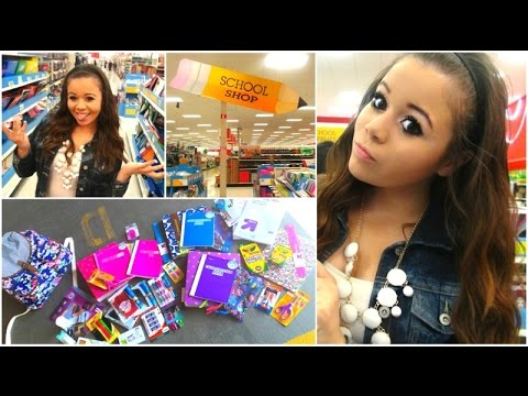 Back To School Supplies Haul + Giveaway!!!